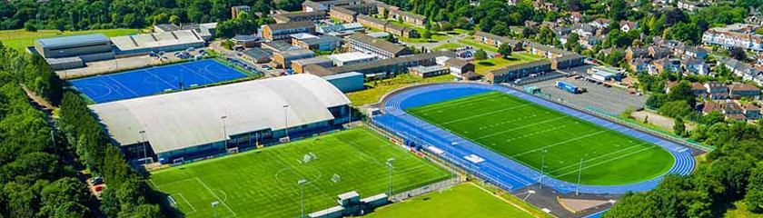 best university for football, football university, university in england