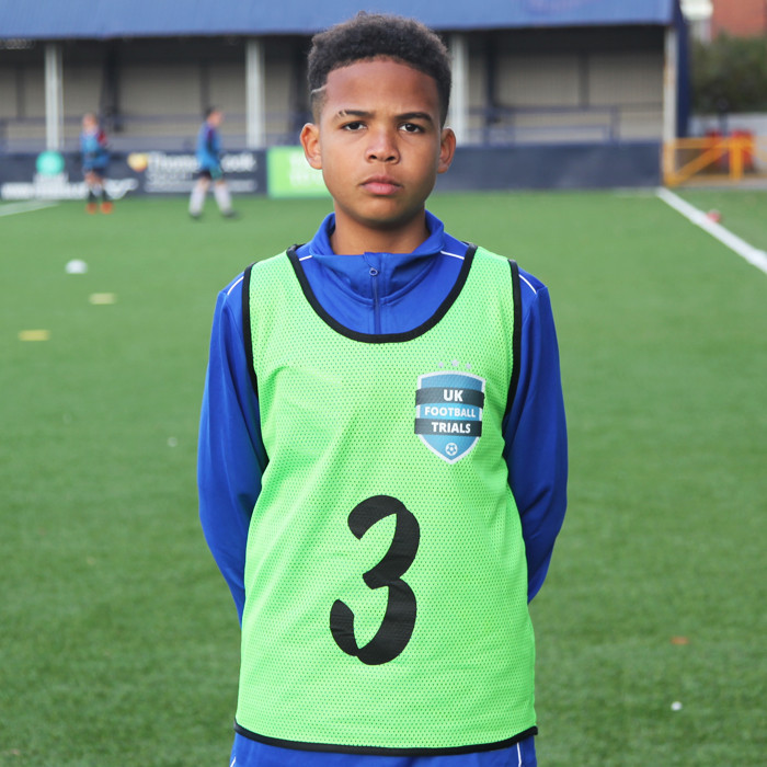 UK FOOTBALL SCHOOLS - Devonte M - 12 Years old  Cayman Islands  | UK